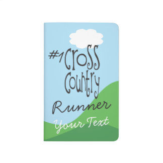 Personalized No 1 Cross Country Runner Journal
