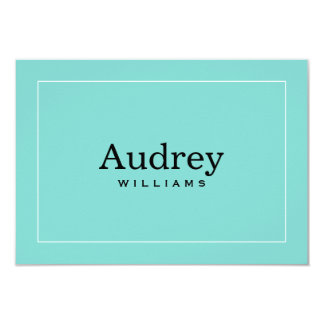 Personalized Note Card | Little Blue Box Theme Invitations