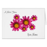 Personalized Note Cards Template