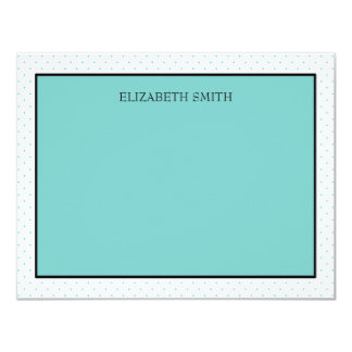 Personalized Note Cards | Tiffany Dots