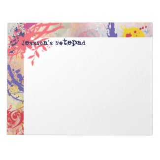Personalized Notepad fuji_notepad
