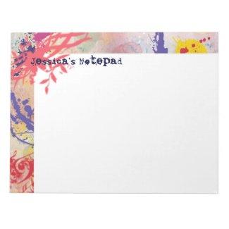 Personalized Notepad fuji_notepad