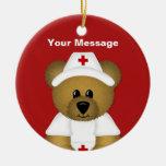 Personalized Nurse Christmas Ornament