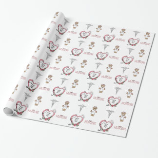 Personalized Nurse Gift Wrap
