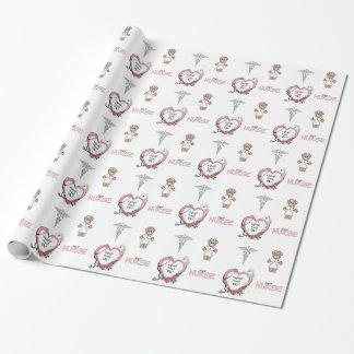 Personalized Nurse Gift Wrap