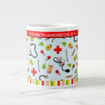 personalized nurse gifts large coffee mug
