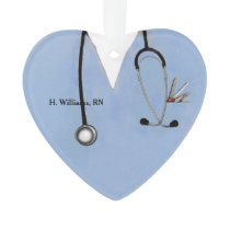 personalized nurse keepsake ornament