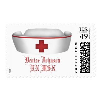 Personalized Nurses Postage