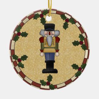 Personalized Nutcracker Christmas Ornament