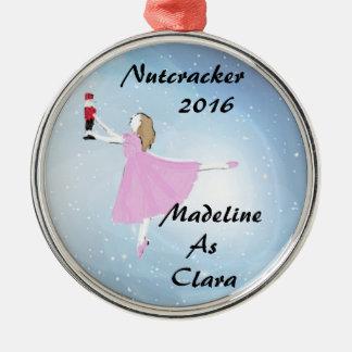 Personalized Nutcracker Clara ornament