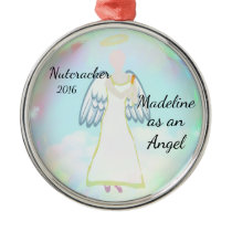 Personalized Nutcracker Ornament - Angel