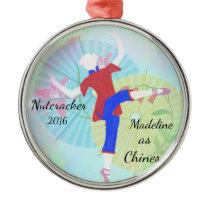 Personalized Nutcracker Ornament - Chinese dance