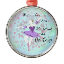 Personalized Nutcracker Ornament - Dew Drop