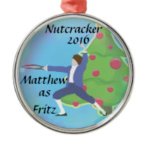 Personalized Nutcracker Ornament - Fritz
