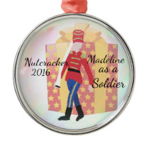 Personalized Nutcracker Ornament - Soldier