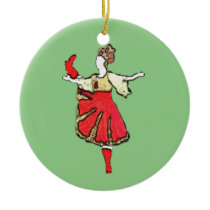 Personalized Nutcracker Ornament - Trepak
