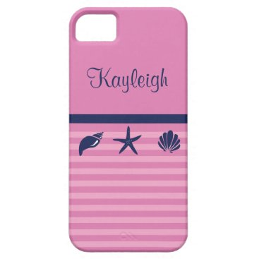 Beach Themed Personalized Ocean Love iPhone SE/5/5s Case