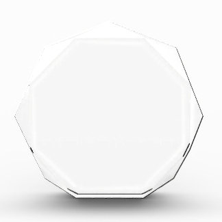 Personalized Octagon Award