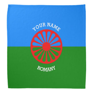 Personalized Official Romany gypsy travellers flag Bandana