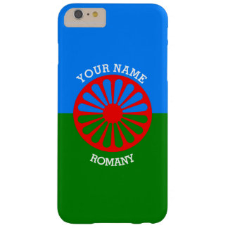 Personalized Official Romany gypsy travellers flag Barely There iPhone 6 Plus Case