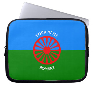 Personalized Official Romany gypsy travellers flag Computer Sleeve