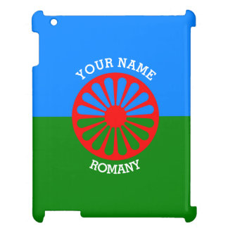Personalized Official Romany gypsy travellers flag Cover For The iPad
