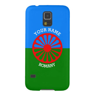 Personalized Official Romany gypsy travellers flag Galaxy S5 Case