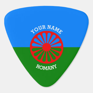 Personalized Official Romany gypsy travellers flag Guitar Pick