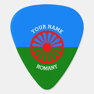 Personalized Official Romany gypsy travellers flag Pick