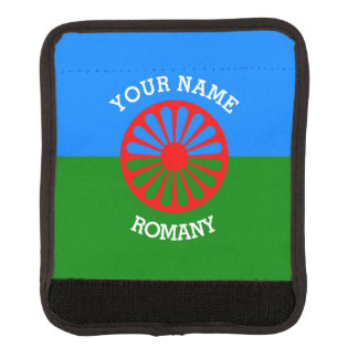 Personalized Official Romany gypsy travellers flag Handle Wrap