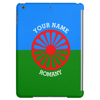 Personalized Official Romany gypsy travellers flag iPad Air Cases