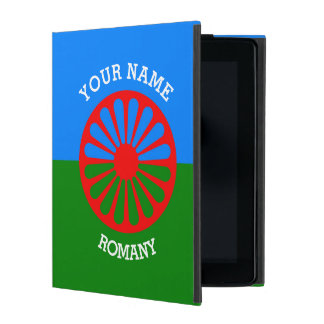 Personalized Official Romany gypsy travellers flag iPad Case