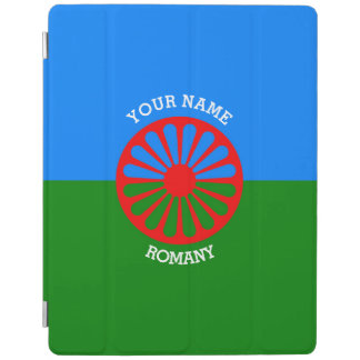 Personalized Official Romany gypsy travellers flag iPad Smart Cover