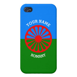 Personalized Official Romany gypsy travellers flag iPhone 4/4S Case