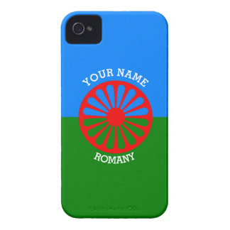 Personalized Official Romany gypsy travellers flag iPhone 4 Cover