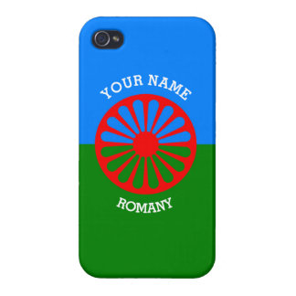 Personalized Official Romany gypsy travellers flag iPhone 4 Covers