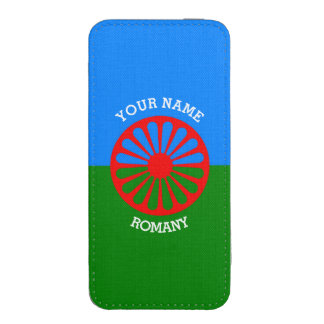 Personalized Official Romany gypsy travellers flag iPhone 5 Pouch