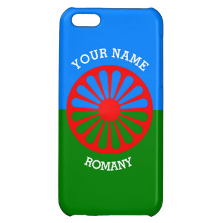 Personalized Official Romany gypsy travellers flag iPhone 5C Case