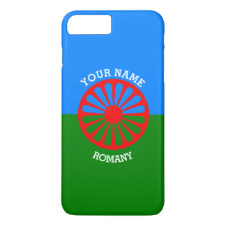 Personalized Official Romany gypsy travellers flag iPhone 7 Plus Case