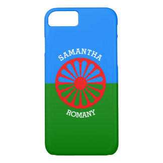 Personalized Official Romany gypsy travellers flag iPhone 8/7 Case