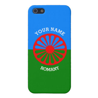 Personalized Official Romany gypsy travellers flag iPhone SE/5/5s Cover