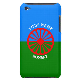 Personalized Official Romany gypsy travellers flag iPod Touch Case
