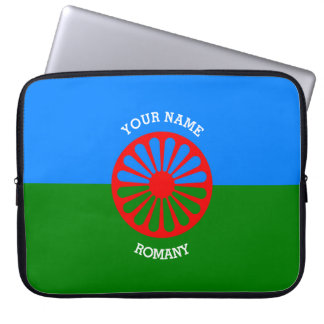 Personalized Official Romany gypsy travellers flag Laptop Sleeve