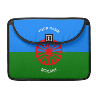 Personalized Official Romany gypsy travellers flag MacBook Pro Sleeve