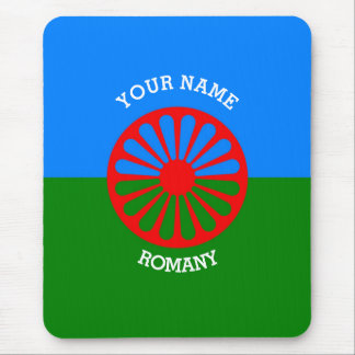 Personalized Official Romany gypsy travellers flag Mouse Pad