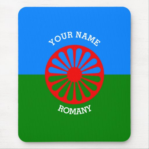 Personalized Official Romany gypsy travellers flag Mousepads