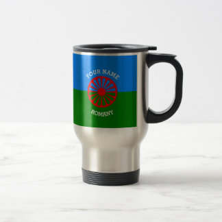 Personalized Official Romany gypsy travellers flag Coffee Mugs