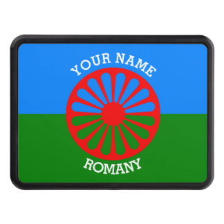 Personalized Official Romany gypsy travellers flag Tow Hitch Covers