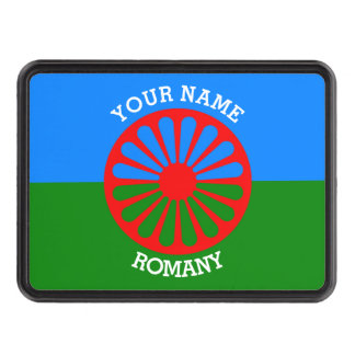 Personalized Official Romany gypsy travellers flag Tow Hitch Cover
