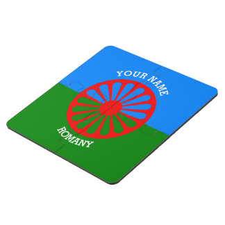 Personalized Official Romany gypsy travellers flag Puzzle Coaster
